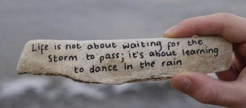 Life Is Not About Waiting For The Storm To Pass.. - quotesjunk.com