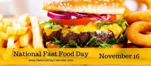 NATIONAL FAST FOOD DAY – November 16 | National Day Calendar. Photo: Blasting News Library - nationaldaycalendar.com