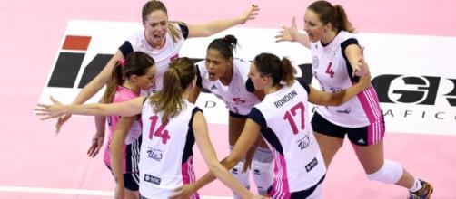 Samsung Gear Volley Cup, prima giornata: Volano Modena e Novara ... - sportmain.it