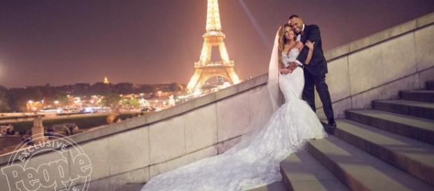 Adrienne Bailon marries Israel Houghton in Paris - Photo: Blasting News Library - realitytvworld.com