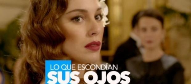 Blanca Suárez en una de las promociones de la miniserie Lo que escondían sus ojos