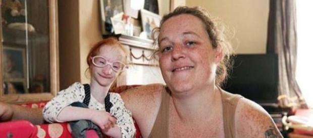 Charlotte Garside. La niña más pequeña del mundo