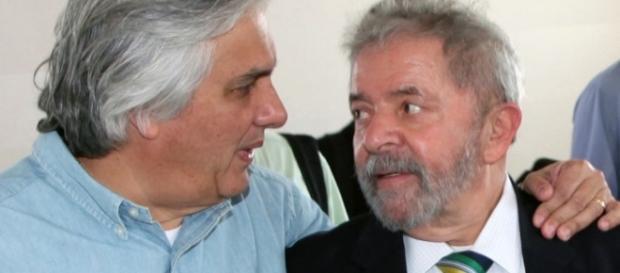 Delcídio e Lula: rota de colisão