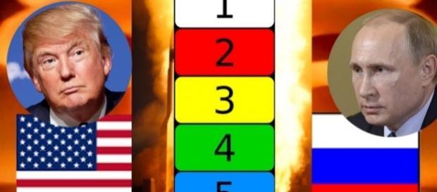 După alegerea lui Trump ca președinte, nivelul de securitate nucleară DEFCON, a scăzut la cel mai scăzut nivel, 5.