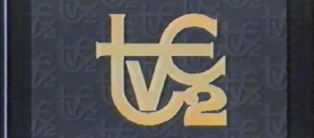 El antiguo logo de la segunda cadena de TVE, actualmente La 2 de TVE, que cumple 50 años de emisiones.