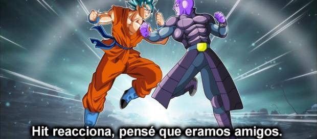 Goku contra Hit, batalla a muerte