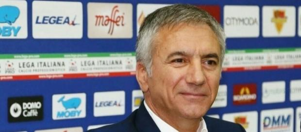 Il Direttore Sportivo del Lecce: Mauro Meluso. Foto Salento Giallorosso.