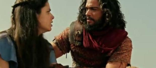 Josué salvará Aruna das garras do poderoso Adonizedeque