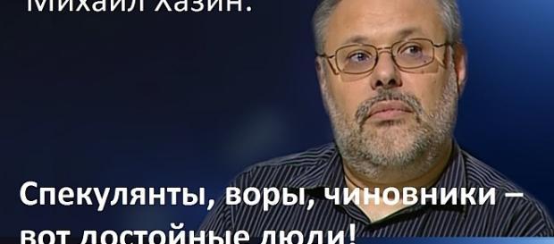 """Michail Chasin: """"Spekulanten, Diebe, Bürohengste – man hat aus ihnen Helden gemacht!"""""""