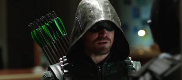 Oliver Queen/Green Arrow (Stephen Amell) in 'Arrow'/Photo via screencap, 'Arrow'