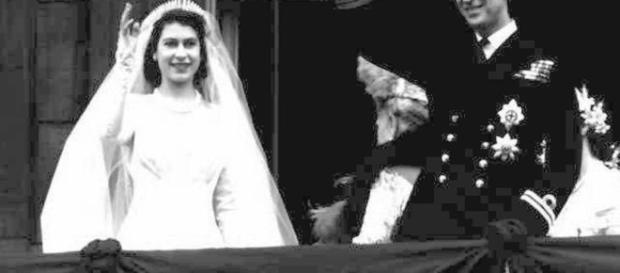 Il matrimonio tra la regina Elisabetta II e il principe Filippo.