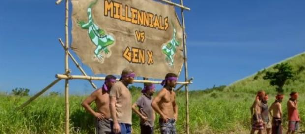 'Survivor' spoilers from episode 9 'Millennials vs Gen X' (image via YouTube Suvivor on CBS)