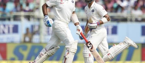 Pujara and Kohli smash 100s (Panasiabiz.com)