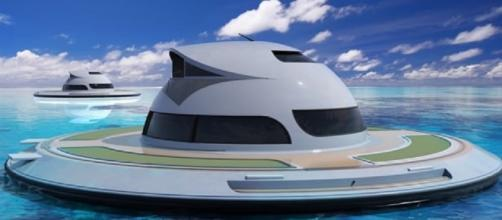 UFO houseboat will soon be ready for mass production! Photo: Jet Capsule promo photo