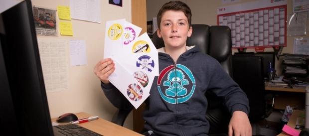 Harvey Millington, un copil de 14 ani din Marea Britanie, a ajuns milionar înre-un an de zile