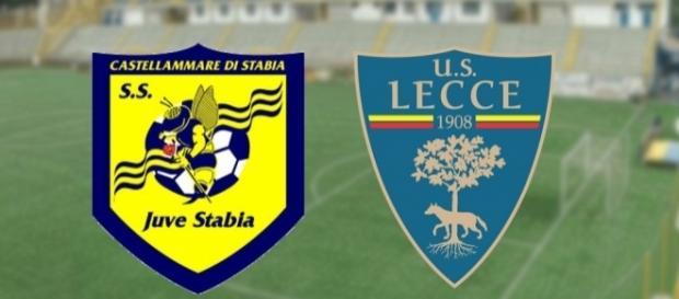 Il Lecce impegnato nella trasferta contro la Juve Stabia