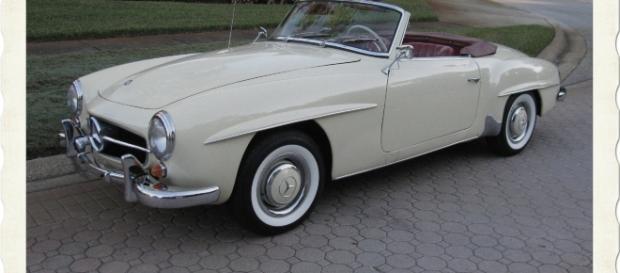 """La Mercedes """"190 SL"""" è rimasta un sogno per il pensionato francese."""