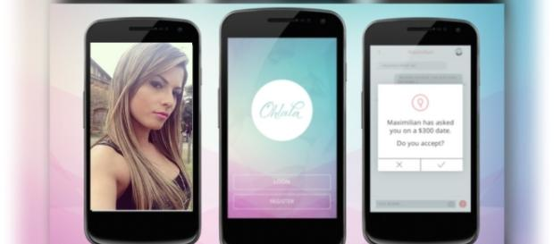 Polêmico aplicativo permite que as usuárias cobrem para encontrar com seus pretendentes