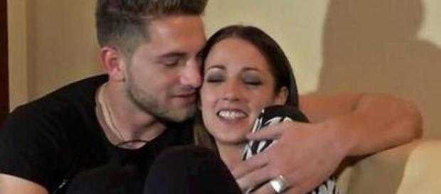 Teresa Cilia e Salvatore Di Carlo sono felici dopo il matrimonio.