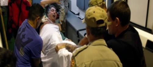 Garotinho resiste à transferência para Bangu (Foto: Popular Mais)
