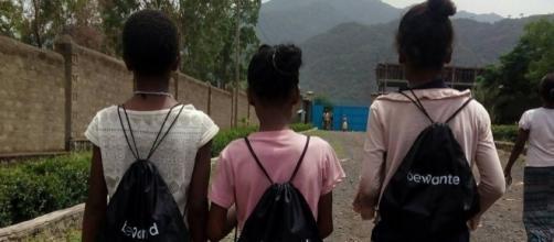 Jóvenes mujeres en Alamata Etiopía