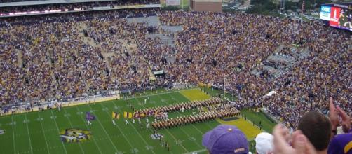 LSU hosts Florida on Saturday's football schedule. [Photo via Flickr Creative Commons]