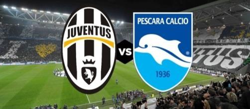 Ore 20.45: Juventus Stadium- Juventus-Pescara