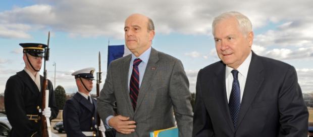 Alain Juppé ministre de la Défense - CC BY