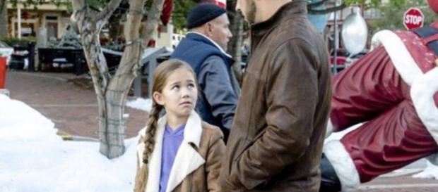 Brooklyn Rae Silzer stars in 'Christmas in Homestead' on Hallmark Channel (via Twitter Brooklyn_Silzer)