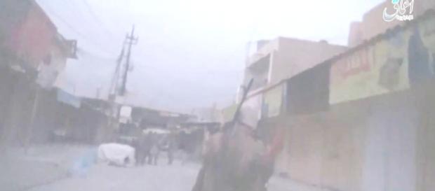Combates en Shirqat, en una fotografía cedida por AICS.