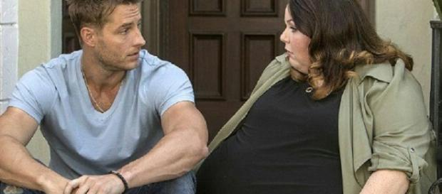 Justin Hartley and Chrissy Metz from 'This Is Us' on NBC [Image Credit: NBC Via Twitter]