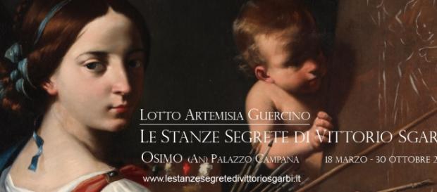 Manifesto della mostra della collezione Sgarbi-Cavallini