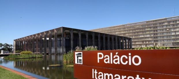 Palácio Itamaraty é o foco da disputa
