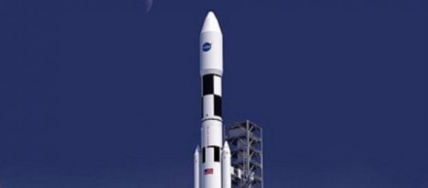 Space Launch System (courtesy NASA)