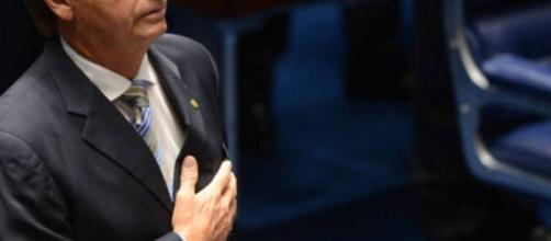 Bolsonaro, no congresso nacional.