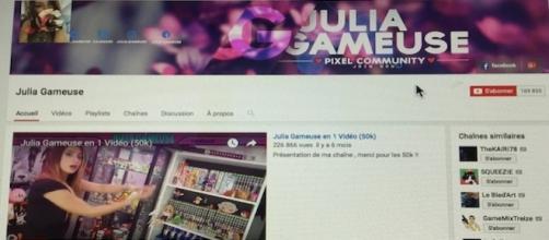 Julia Gameuse attaquée sur Twitter par de jaloux personnages photo D.R.