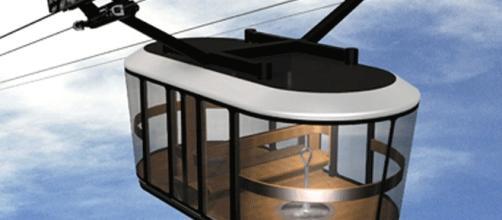 Le téléphérique de Brest, à deux câbles, comprend deux cabines panoramiques