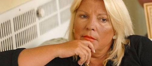 Lilita Carrió, actual dirigente de Cambiemos
