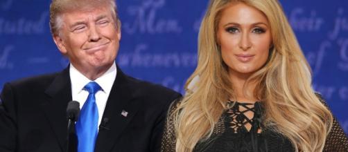 Paris Hilton ha votato Donald Trump