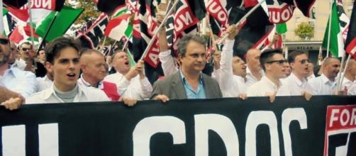 Roberto Fiore Segretario Nazionale di Forza Nuova
