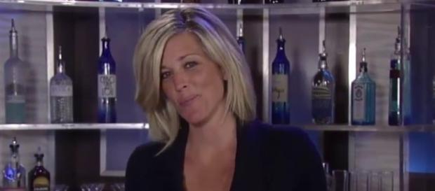 'General Hospital' Carly actress Laura Wright hosts Monday spoiler video (via YouTube carlybabes)