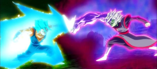 goku y zamasu dragon ball super d
