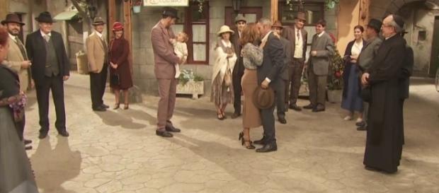 Il Segreto, anticipazioni iberiche al 25-11: Alfonso e Emilia si ritrovano.