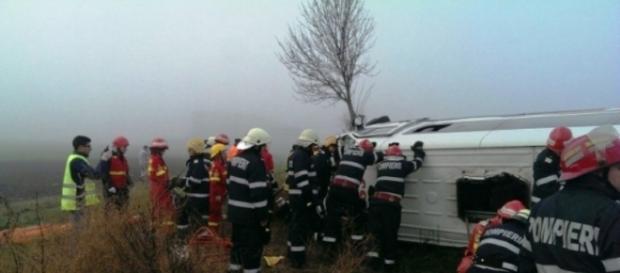 Imagini de la locul accidentului de la Șindrilița