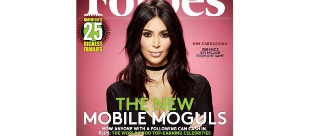 Kim Kardashian Covers 'Forbes' After Game Earns $160 Million - highsnobiety.com