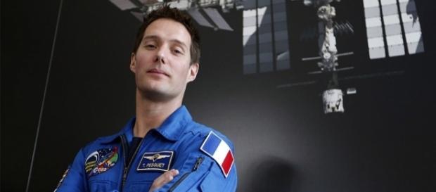 L'astronaute de 38 ans est le dixième français a monter a bord de l'ISS