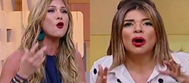 Lívia Andrade e Mara Maravilha - Google