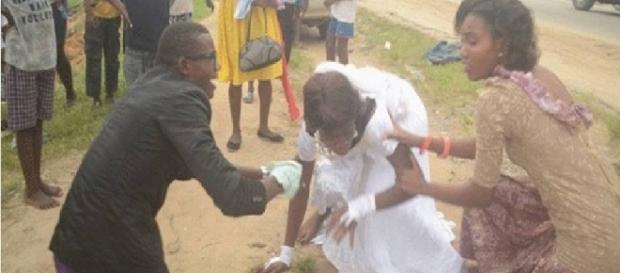 Noiva vê seu verdadeiro amor no dia do casamento
