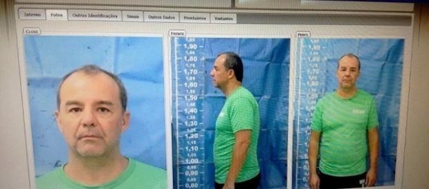 Sérgio Cabral é preso e tem a cabeça raspada no presídio