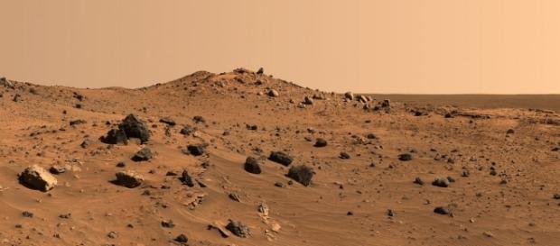 Su Marte trovate tracce di silice simile al Cile